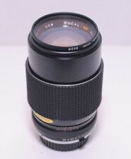 Minolta MD mount 135mm F2.8 multi coated, made by Focal Sharp and Clean