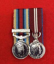 Miniature OSM Afghanistan OP Herrick + Diamond Jubilee Court Mounted Medals