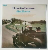 Jim Reeves - I Love You Because (LP, Comp) EX/EX
