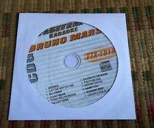 BRUNO MARS 2011 KARAOKE CDG GREATEST HITS FASTRAX FTX-1018 ($19.99)