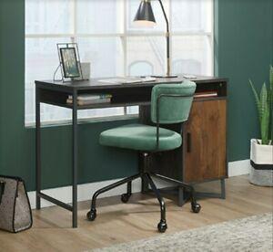 Sauder 425304 Canton Lane Desk, Brew Oak Finish with Grand Walnut accent