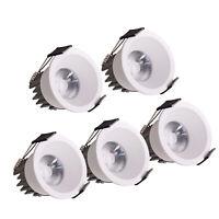 5X 10X Mini 3W Recessed Downlight Ceiling Light Wall Cabinet Spot Lamp + Driver