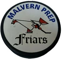 MALVERN PREP FLAIRS OFFICIAL GAME PUCK RARE LINDSAY MFG. MADE IN CANADA 🇨🇦