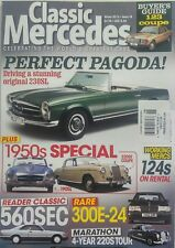 Classic Mercedes UK Winter 2016 Perfect Pagoda 1950s Special FREE SHIPPING sb