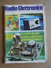 Radio Elettronica  n°12 1973    [D20]