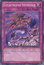 Yu-Gi-Oh ! Carte Catastrophe Infernale  LCJW-FR136