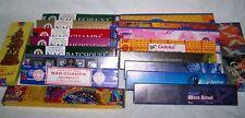 Räucherstäbchen Indien Nag Champa, Satya 30 Sorten + Kollektion 8x10 g