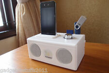50% OFF Dock Station Speaker for iPod iPhone 3G 3GS 4G (WHITE)