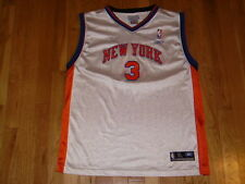 Reebok STEPHON MARBURY White NEW YORK KNICKS  3 Youth NBA Team Replica JERSEY  XL b15a37e10