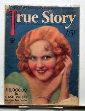 Mar 1934 True Story Magazine- Love Stories/Movie Stars (L6176)
