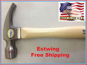Estwing 1020LM 20oz. Milled Face, Double Tempered Steel Head Hammer_Made In USA