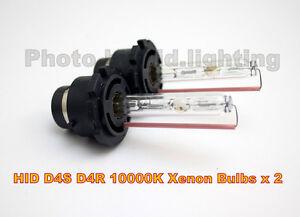 2 x D4R D4S D4C HID Xenon Replacement Bulb 10000K light beam TOYOTA LEXUS Pruis