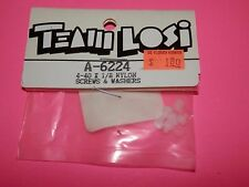 Team Losi 4-40 x 1/8 Nylon Screws & Washers #A-6224 NIP