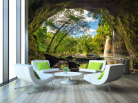 3D Cave Scenery 763 Wall Paper Wall Print Decal Wall Deco Indoor AJ Wall Paper