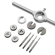 1Set Mini HSS Metric Taps Dies Wrench Handle Kit M1-M1.6 Screw Thread Making New