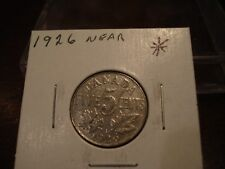 1926 -  Canada 5 cents - Canadian nickel
