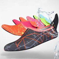 Women Kid Skin Water Shoes Swim Beach Socks Yoga Exercise Pool Swim Slip On Surf