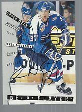 1994-95 Be A Player Autographs #111 Eric DeSjardins