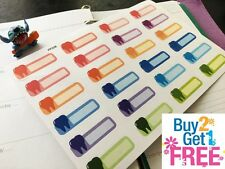 PP238- Dentist Appointment Reminder Life Planner Stickers 4 Erin Condren (24pcs)