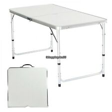4u0027 Folding Table Portable Aluminum Indoor Outdoor Picnic Party Dining Camp  Table Part 98