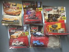 Disney Pixar Cars 5 coches raramente Bessie, tachomint, Jerome, Ramone, Artie nuevo