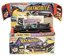 CORGI TOYS 267 BATMAN BATMOBILE ROCKET FIRING 1966 AUTHENTIC ORIGINAL COLLECTORS