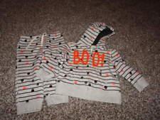 BABY GAP 18-24 HALLOWEEN BOO MONSTER HOODIE AND PANTS