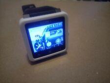 Sony SmartWatch 2 SW2 Aluminum Case Black Modern Buckle - White + Apps