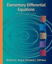 Elementary Differential Equations by William E Boyce