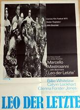 Marcello Mastroianni LEO DER LETZTE original Kino Plakat A1
