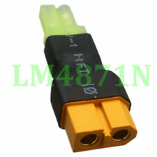 XT60 Female to mini Tamiya Male Adapter fr RC LiPo battery charger Airsoft drone