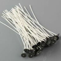 50pcs 6 Inch Candle Wicks COTTON Core Candle Making Supplies Pretabbed