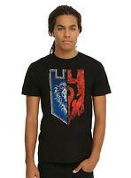 Warcraft Half Logos Teaser T-Shirt