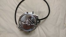 honda cbx tims conversion painted alternator w/ billet logo cap