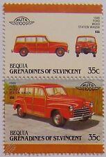 1948 Ford Madera Station Wagon Auto Sellos (líderes del mundo / Auto 100)