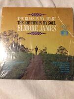 ELMORE JAMES The Blues In My Heart The Rhythm in My Soul - VG+ Vinyl LP