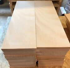 40 CLEAR EASTERN  WHITE PINE BOARDS 1/4