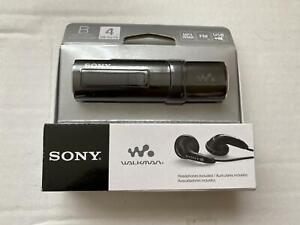 Sony 4 GB Flash MP3 Player with FM Tuner - Black (NWZ-B183F/BC)