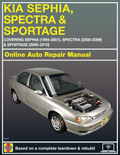 2007 Kia Sportage Haynes Online Repair Manual-90 Day Access
