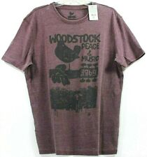 NWT Lucky Brand Woodstock Peace And Music 1969 T-Shirt Tee Music Concert