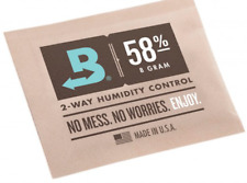 Boveda 58% RH 8 gram 3 Pack 2- way Humidity Control Herbs Cigars Tobacco Flowers