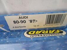 12.17 MINI DEFLETTORI ANTI TURBO ANTERIORI AUDI 80-90 SW 4//5P 87-93 FARAD