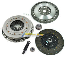 FX HD CLUTCH KIT & FORGED RACE FLYWHEEL 96-04 FORD MUSTANG GT V8 281cu 6-BOLT