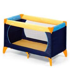 Hauck Dream n Play Travel Cot Baby Crib Blue Yellow Playpen