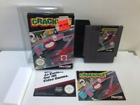 Crackout - NES NINTENDO GAME *complete in box, wonderful condition! Rare