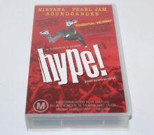 Hype! Nirvana Pearl Jam Soundgarden Mudhoney Love Battery Vhs Video 1996
