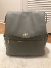 Freshly Picked Classic Diaper Bag Backpack (large) Gray Stone