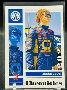 2021 Panini Chronicles Racing NASCAR Jesse Love Chronicles RC