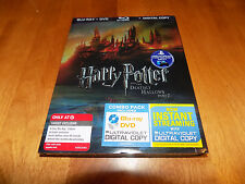 HARRY POTTER AND THE DEATHLY HALLOWS PART 2 Blu Ray DVD Digital Combo DISC SET