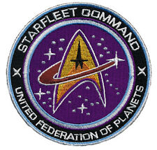 STARFLEET COMMAND UFO PLANETS STAR WARS TACTICAL MORALE 3.5 INCH HOOK PATCH